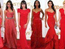 Cum sa accesorizezi corect o rochie rosie