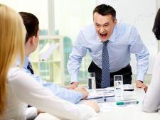 Angajatii romani, supusi abuzului psihic la locul la munca