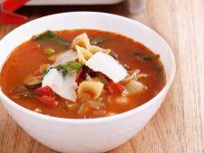 Supa de toamna cu rosii si legume