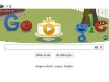 Google sarbatoreste 15 ani de existenta