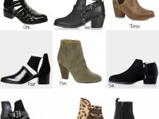 5 modele de botine la moda, care costa mai putin de 150 de lei