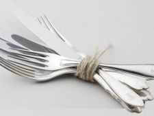 3 trucuri pentru curatarea tacamurilor din argint