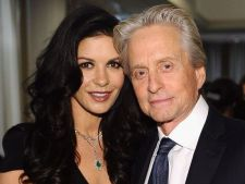 Catherine Zeta-Jones si Michael Douglas s-au impacat