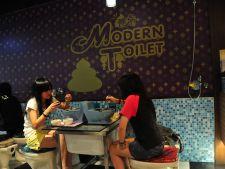 Bizar sau excentric? Restaurantul toaleta