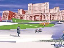 Se reamenjeaza zona din jurul Casei Poporului: parcuri, zone de relaxare pe iarba si terase