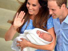 Kate Middleton si printul William sar peste traditii si la botez