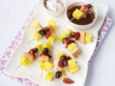 Fondue de fructe, un desert special de toamna