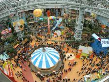 Cel mai aglomerat mall. Oamenii se cazeaza la hotel pentru a-l vizita