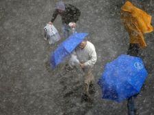 Ploi torentiale in toata tara in urmatoarele zile