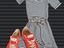 6 rochii pe care le poti purta cu tenisi