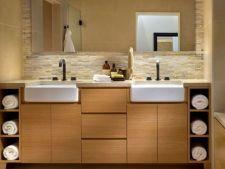 Idei de aranjare a prosoapelor in baie pe care le vei adora