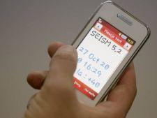 Populatia, anuntata in timp real, prin SMS, inaintea unui cutremur