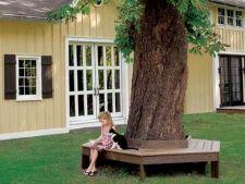 Cum sa construiesti o bancuta de copac in gradina ta