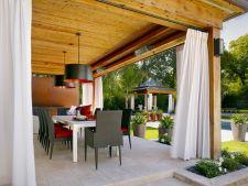 Draperiile in amenajarea gradinii: idei de design care te vor incanta