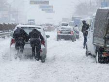Iarna a blocat deja Europa