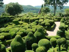 Gradinile Marqueyssac, din Franta, un loc ce iti taie respiratia