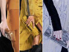 Clutchurile statement, ultimul trend in moda. Spune adio negrului, stralucirea este un must-have