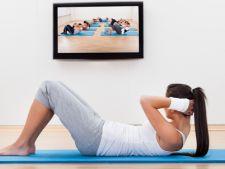 Sport la tine acasa: 4 cai de a insera exercitiile fizice in programul cotidian