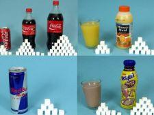 Tu stii cat de mult zahar au bauturile si dulciurile tale preferate?
