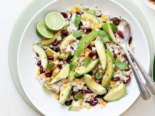 Salata de fasole si orez mexican
