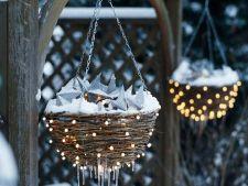 Luminile, decorul de basm din gradina ta de Sarbatori