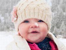 Trucuri pentru ingrijirea pielii bebelusului iarna