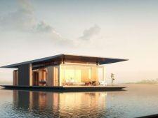 Case de lux: daca ai bani, poti locui pe apa. Cum arata casa plutitoare mobila