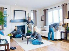 Cum creezi iluzia unei casei curate cand nu ai timp sa faci totul ca la carte