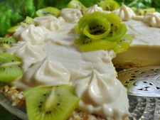 Placinta cu lime si kiwi