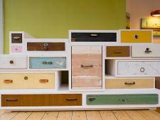 Manere ingenioase pentru sertare si dulapuri din obiecte reciclate
