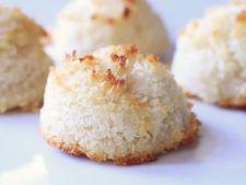 Macarons cu nuca de cocos