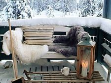 Stiluri spectaculoase de a decora terasa iarna