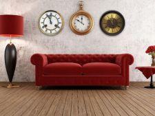 Ceasurile de perete, ideale pentru un decor fabulos. Iata 5 idei uimitoare