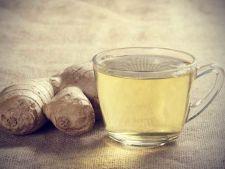 Beneficiile ceaiului de ghimbir: imbunatateste digestia si scade riscul de cancer