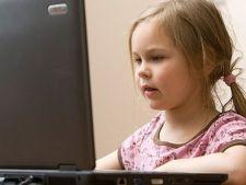 Copiii romani, europenii cei mai hartuiti pe internet