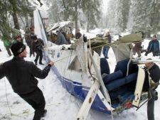 S-a inceput urmarirea penala in cazul accidentului aviatic din Muntii Apuseni