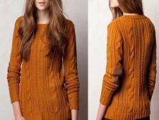 3 modele de pulovere de primavara la sub 100 de Ron