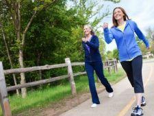 Plimbarile pe jos cresc dimesiunea creierului