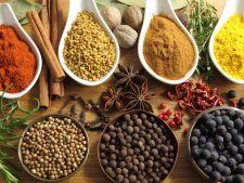 Condimente si ierburi aromatice care intensifica gustul alimentelor