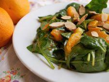 Salata de spanac si curcan cu citrice