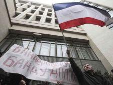 Guvernul si Parlamentul din Crimeea, ocupate de rusi