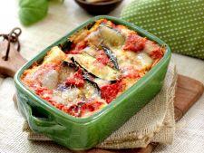 Lasagna vegetariana cu 4 feluri de branza