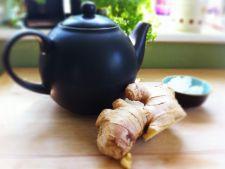 Beneficiile ceaiului de ghimbir, un condiment aromat cu numeroase proprietati curative