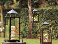 Felinarele, accesorii indispensabile in gradina de vara. Iata cum le confectionezi chiar tu!