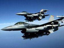 Avioane NATO survoleaza Romania