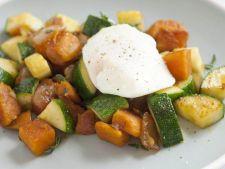 Zucchini copti cu cartofi (reteta de post)