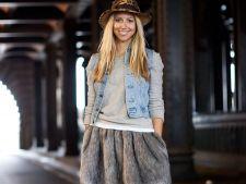 5 modalitati sic de a purta vesta de blugi primavara aceasta