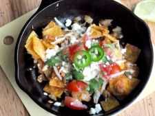 Reteta mexicana traditionala: chilaquiles cu tortilla