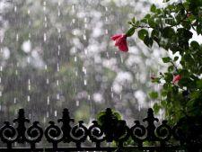 Weekend cu temperaturi normale si sanse mari de ploaie
