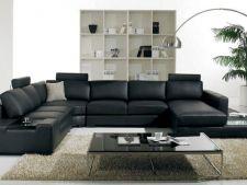 Mobileaza-ti livingul cu stil. Alege canapelele din pele!